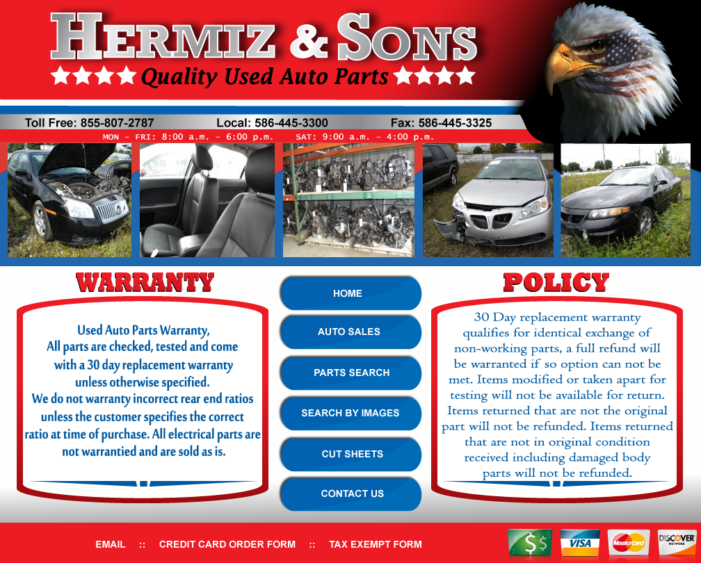 Valley Auto Parts /DBA Hermiz & Sons Auto Parts