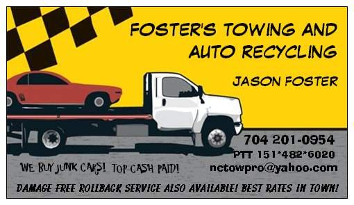 Foster's Towing and Auto Recycling