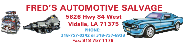 Fred's Automotive Salvage